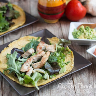 Low Carb Paleo Tortillas with Flaxseed and Eggs