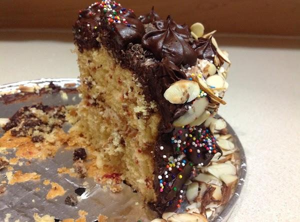 Chocolate, Almond, & Orange Cake Recipe