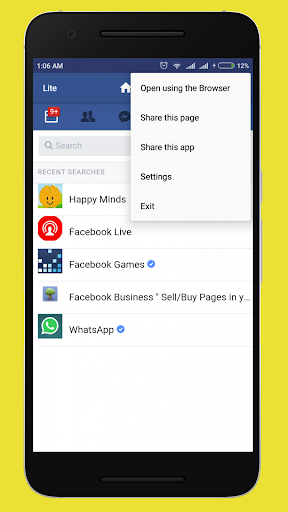 Facebook lite free download mobile9