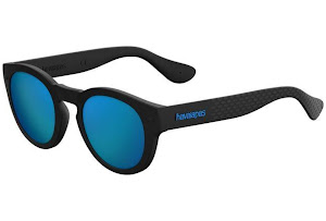 Havaianas Leblon Gafas de sol Black Multicolor 59 Unisex Adulto