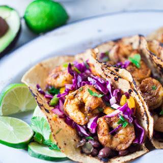 Caribbean Shrimp Tacos.