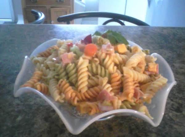 Pasta Salad With Italian Dressing Recipe
