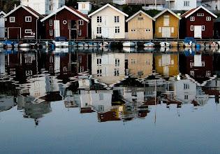 Photo: Grundsund i kvällsljus