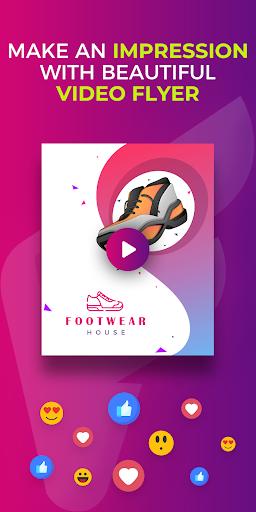 Flyer Maker, Poster Maker With Video 19.0 screenshots 8