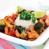 Bildresultat för kycklingwok med ris