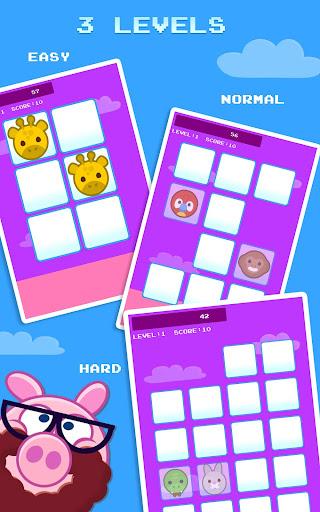 Piggy Memory - Match 2 cards