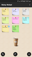 Screenshot of Sticky Notes !