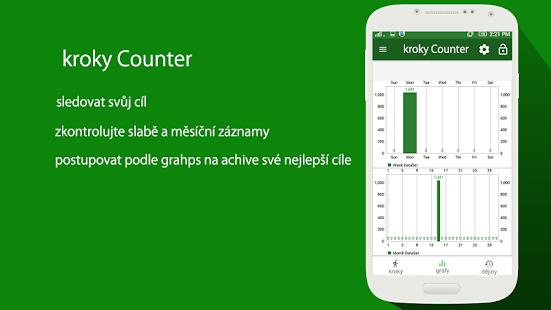Kroky Counter - Krokoměr - náhled