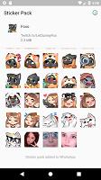 screenshot of Foxo Stickers