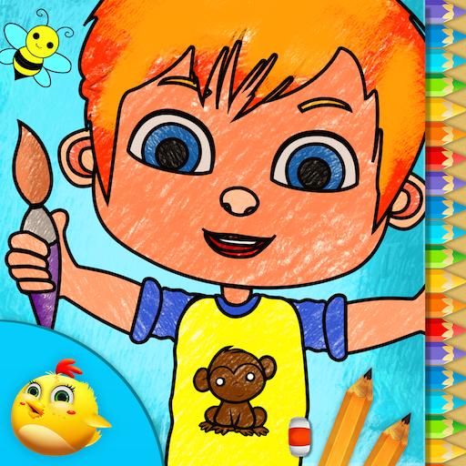 幼兒童裝顏色,繪製 教育 App LOGO-硬是要APP