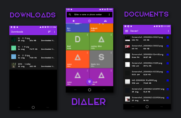 NotesUI Dark CM13 Theme- screenshot thumbnail