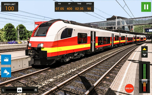City Train Driving Simulator: Public Train 1.0 screenshots 2