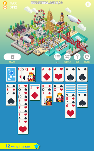 Age of solitaire - Free Card Game apkpoly screenshots 1