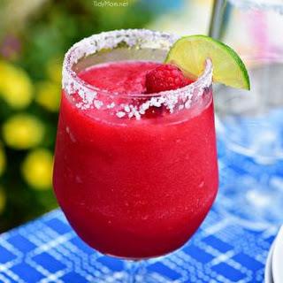 Frozen Raspberry Margarita.