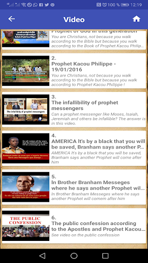 Prophet Kacou Philippe (Official) android2mod screenshots 8