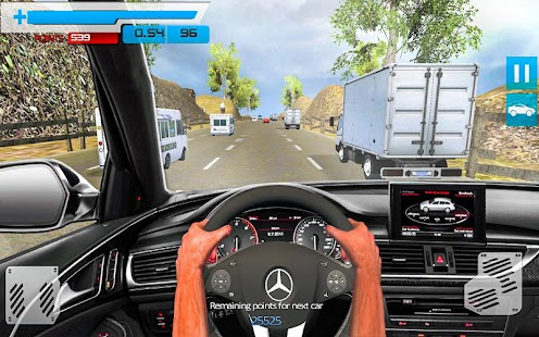 drive in car on highway racing games android apps on google play. Black Bedroom Furniture Sets. Home Design Ideas
