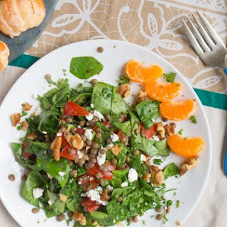 Lentil Bruschetta Salad