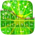 Lime Green Keyboard icon