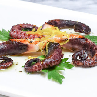 Grilled Octopus with Lemon-Sherry Vinaigrette