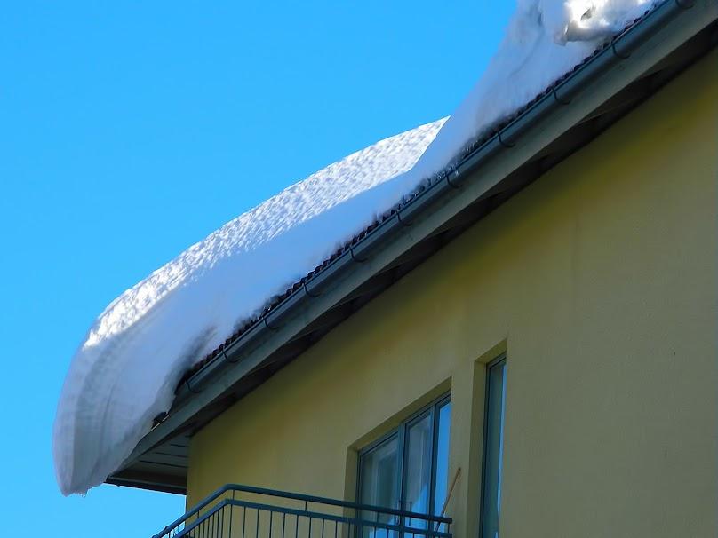 Ośnieżony dach