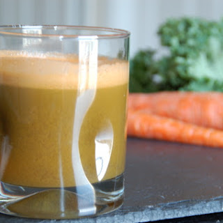 Zesty Carrot (not so) Green Juice