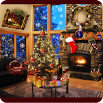 Christmas Fireplace LWP Full 1.74 (Paid)