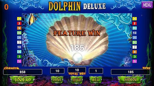 Dolphin Deluxe Slot 1.2 screenshots 8