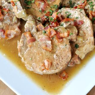 Smothered Pork Chops {Slow Cooker}