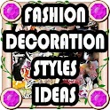 Fashion decoration style ideas icon
