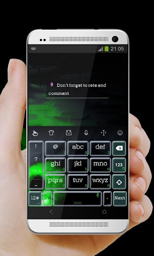 邪惡的綠眼睛 TouchPal|玩個人化App免費|玩APPs