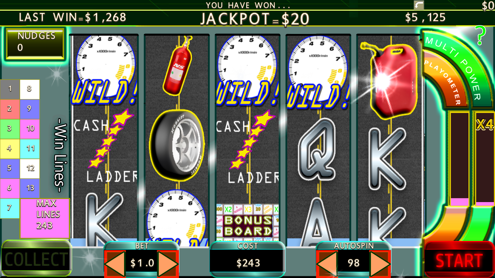 Free online slot machine games with nudges