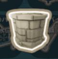 石の貯水タンク