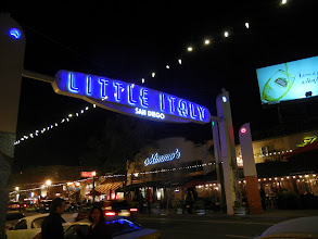 Photo: Little Italy district in San Diego