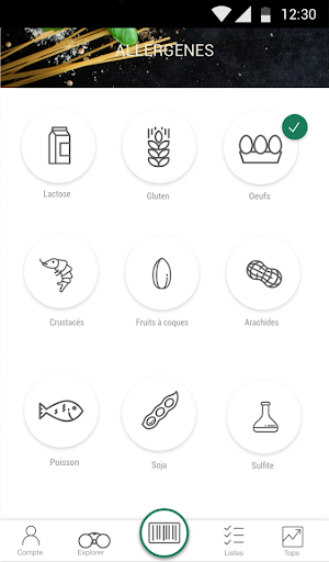 Scan Eat - Scanner alimentaire pour mieux manger  screenshots 11