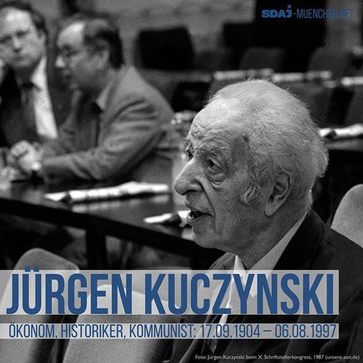 Jürgen Kuczynski beim X. Schriftstellerkongress 1987.
