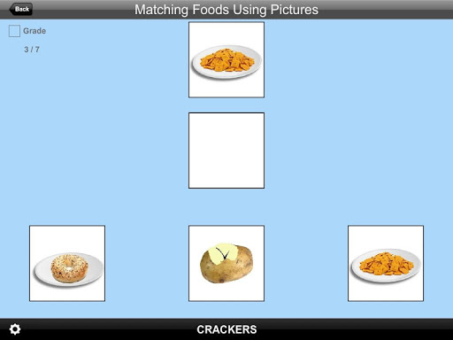 Matching Foods Using Pictures Lite Version 1.0 screenshots 3