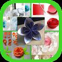 DIY Paper Flower Craft icon