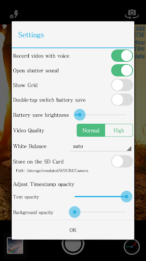 Timestamp Camera Free 1.98 screenshots 5
