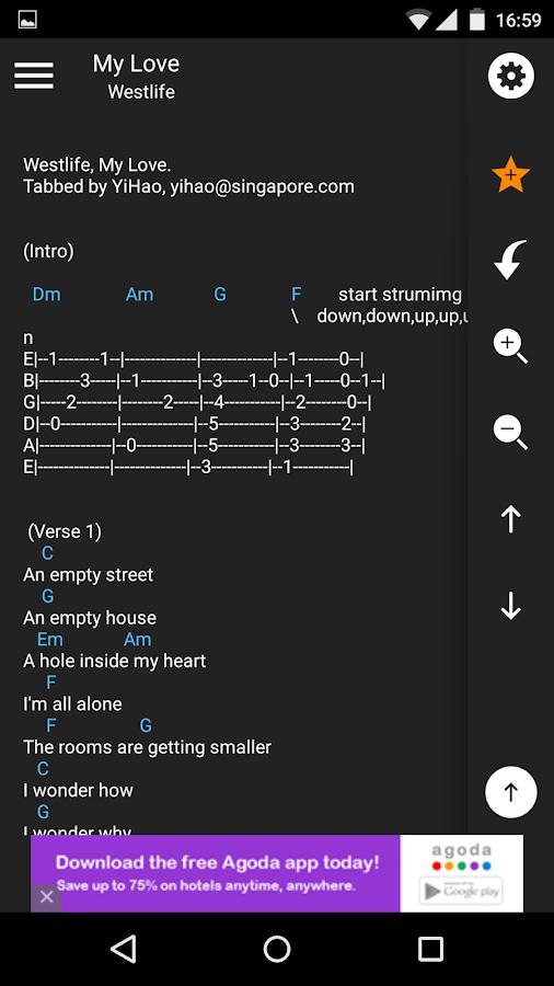 Song Chord Finder- screenshot