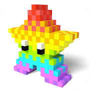 Color by Number 3D - Voxel Pixel Art Coloring Book