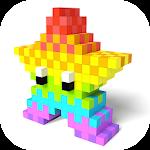 Pixel Color 3D Icon
