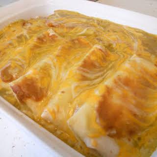 Ground Pork Enchiladas.