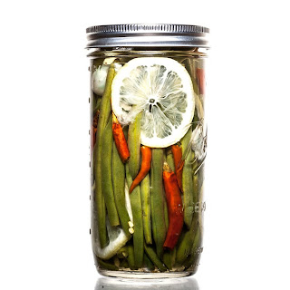 Lemon-Chile Green Bean Pickles