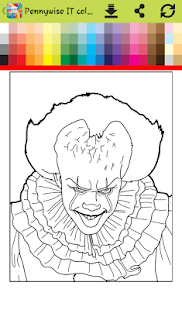 How to color it halloween clown ( painting games ) - náhled