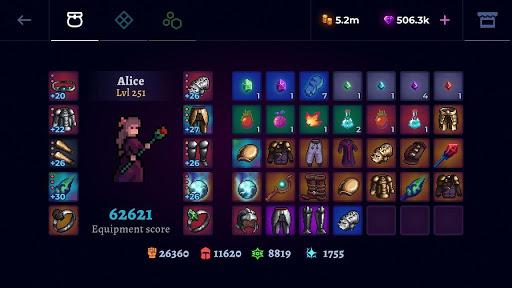 Moonrise Arena [Mod] Apk - Hầm ngục dưới ánh trăng