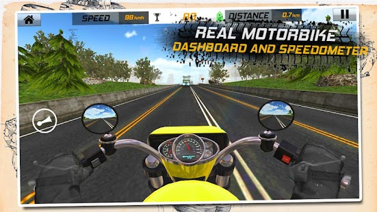 Traffic Rider: Highway Race- screenshot thumbnail