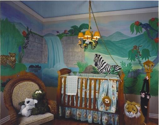 婴儿房装饰理念