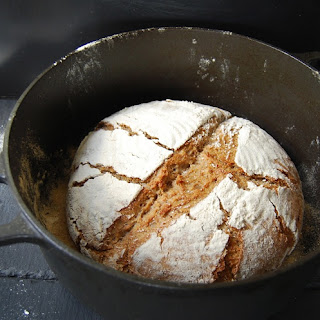 Wholewheat, Rye and Oat Bread Recipe