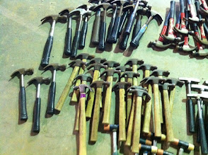 Photo: Small wooden hammers