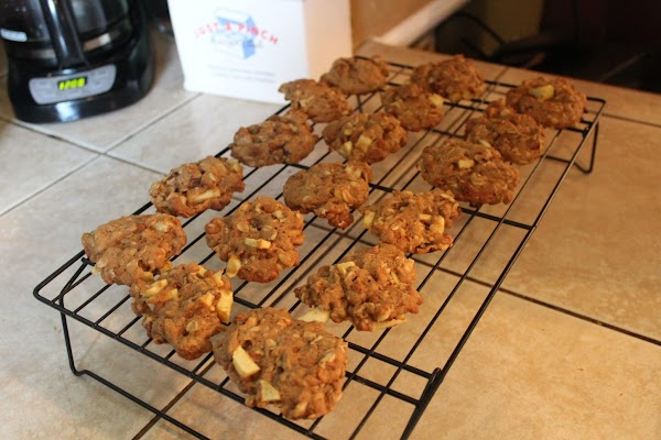 Let cool a few minutes and remove to cooling rack to cool completely.